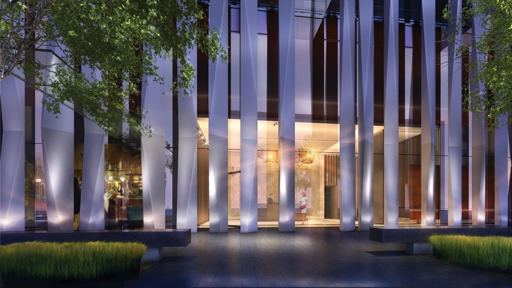 One Yorkville Condos for sale - street entrance