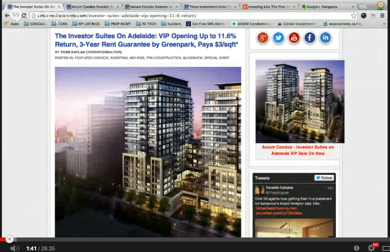 Investing Like The Pros in Pre Construction Condos Toronto YouTube
