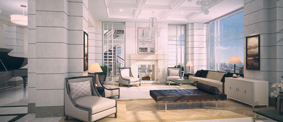 YORKVILLE PLAZA CONDOS FOR SALE - LOBBY