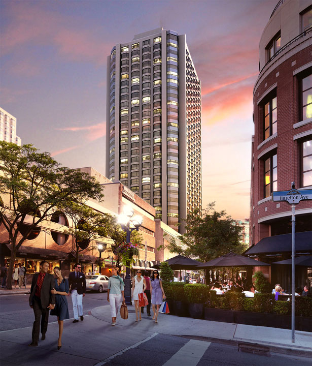 YORKVILLE PLAZA CONDOS FOR SALE - STREET