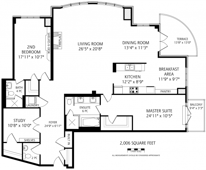 1717 AVENUE ROAD - FLOORPLANS