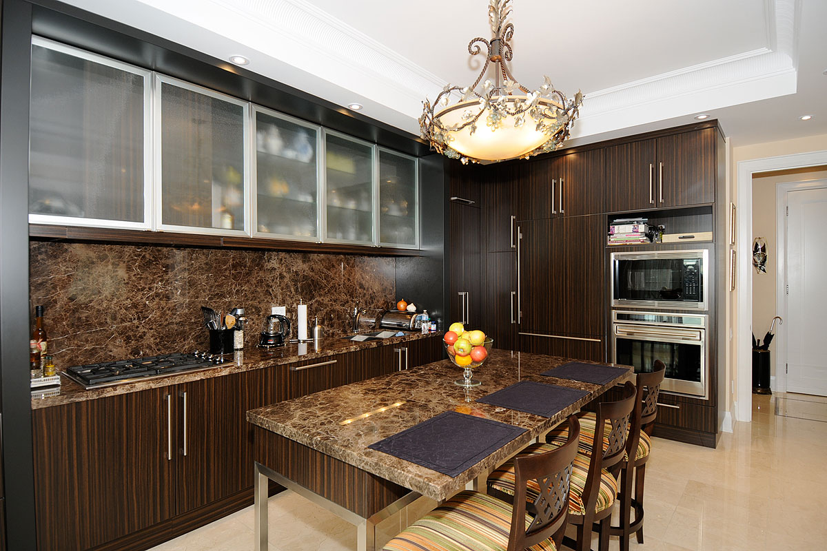 100 YORKVILLE CONDOS - KITCHEN