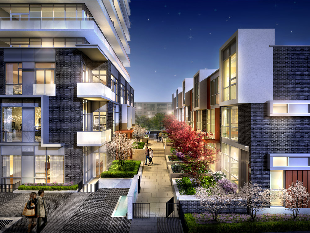 101 ERSKINE CONDOS FOR SALE - TOWNHOMES