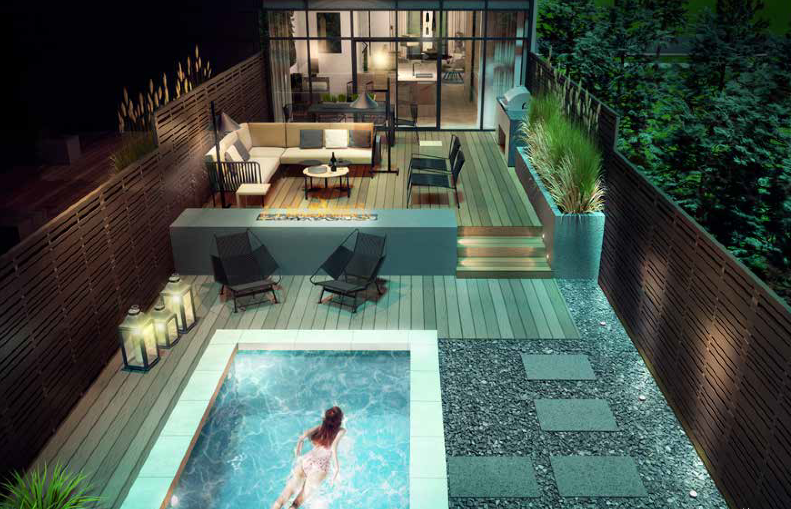 ESTATES ON BAYVIEW - PRIVATE TERRACE - CONTACT YOSSI KAPLAN