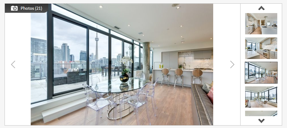560 KING W PENTHOUSE FOR SALE - SCREENSHOT