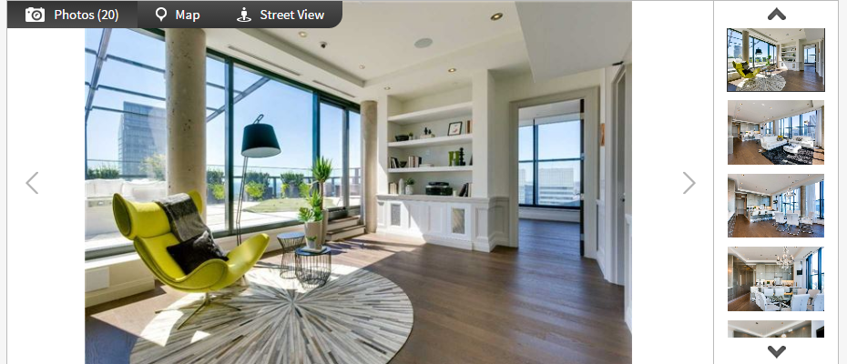 Five Superb Penthouses For Sale In Toronto