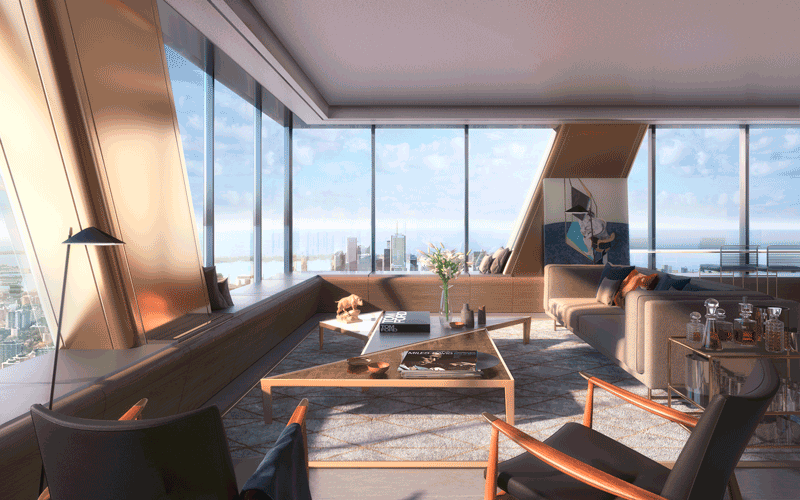 The One Bloor West Residences - Penthouse For Sale