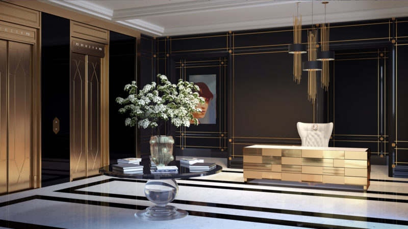 200 Russell Hill Condos Lobby - Forest Hill Luxury Condos for Sale