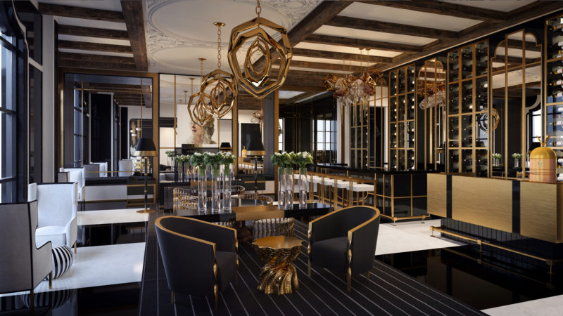 200 Russell Hill Road Condos - Bar Lounge