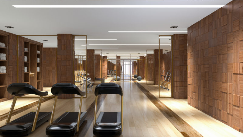 200 Russell Hill Road Condos - Gym