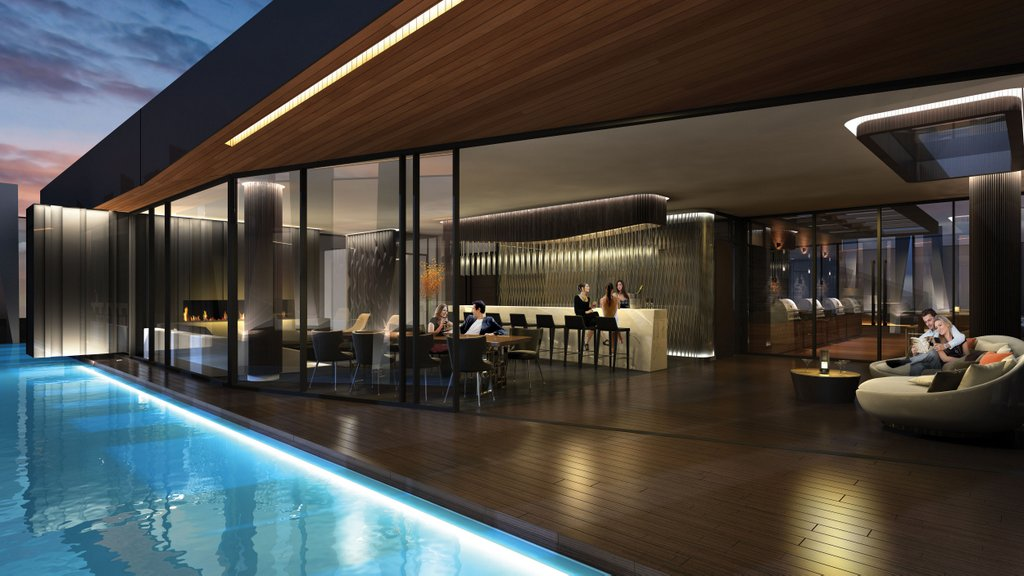 One Yorkville Condos for sale - Pool