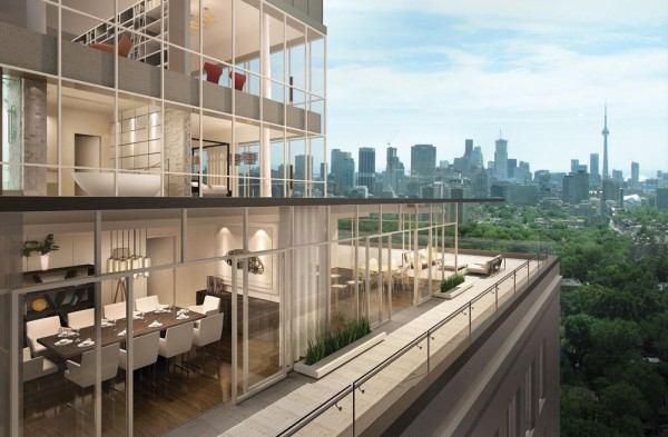 IMPERIAL PLAZA - 111 ST CLAIR AVE WEST - SKY PENTHOUSE CITY VIEW