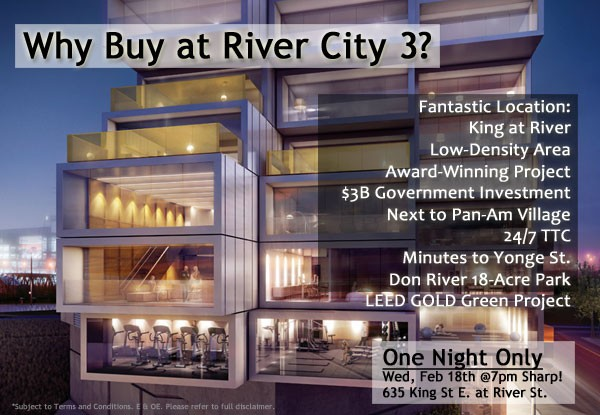 RIVER CITY 3 - WHY BUY?