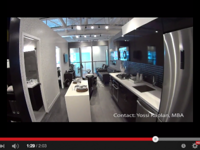 EAST FIFTY FIVE CONDOS - ONE PLUS DEN - Yossi Kaplan Video