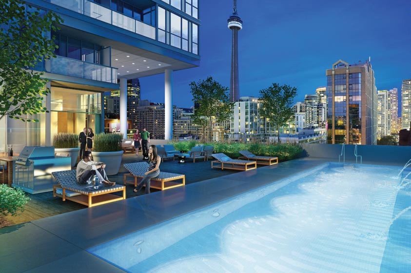 CHARLIE CONDOS FOR SALE - CONTACT YOSSI KAPLAN - ROOFTOP POOL