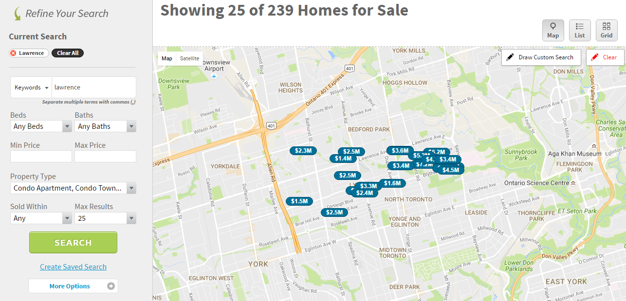 LAWRENCE PARK - SEARCH REALTY ACTIVE LISTINGS