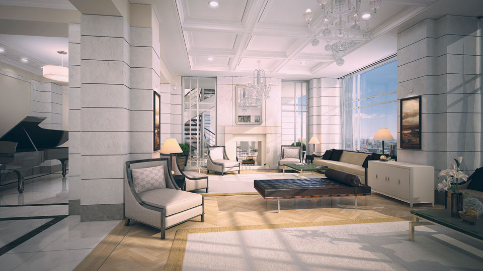 YORKVILLE PLAZA CONDOS FOR SALE - PENTHOUSE