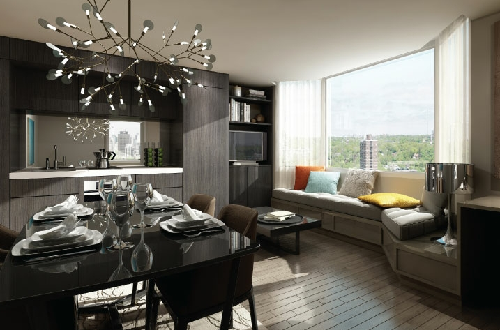 THE CUMBERLAND TOWER AT YORKVILLE PLAZA - INTERIORTHE CUMBERLAND TOWER AT YORKVILLE PLAZA - INTERIOR