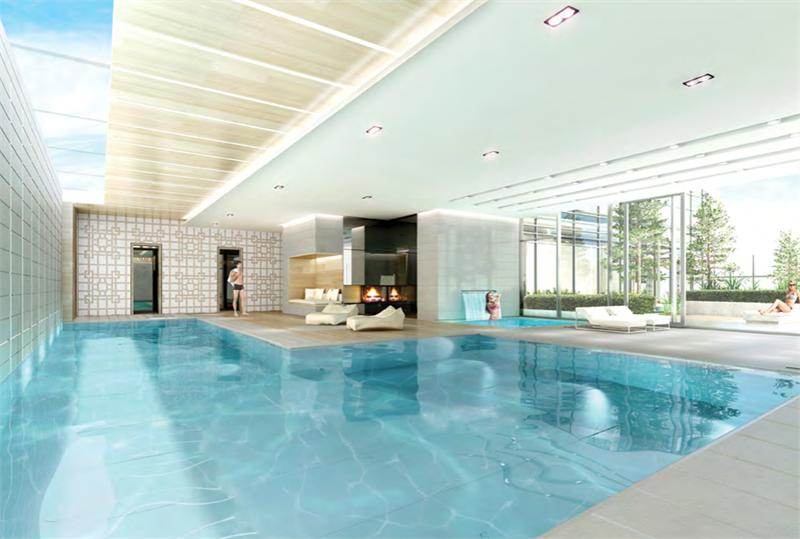 THE CUMBERLAND TOWER AT YORKVILLE PLAZA - POOL