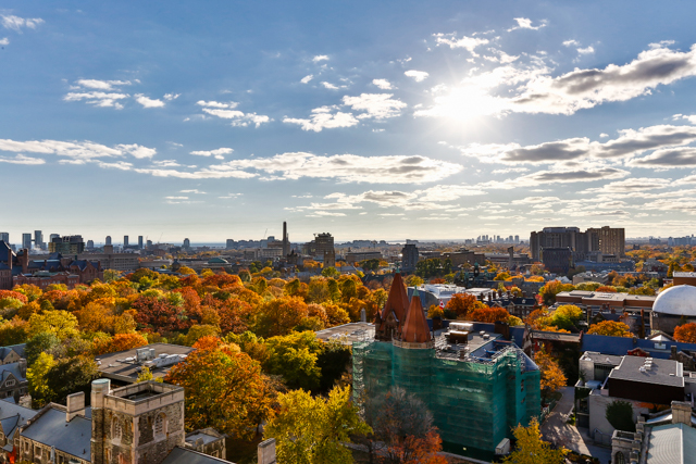 77 CHARLES WEST PENTHOUSE TERRACE VIEW - CONTACT YOSSI KAPLAN