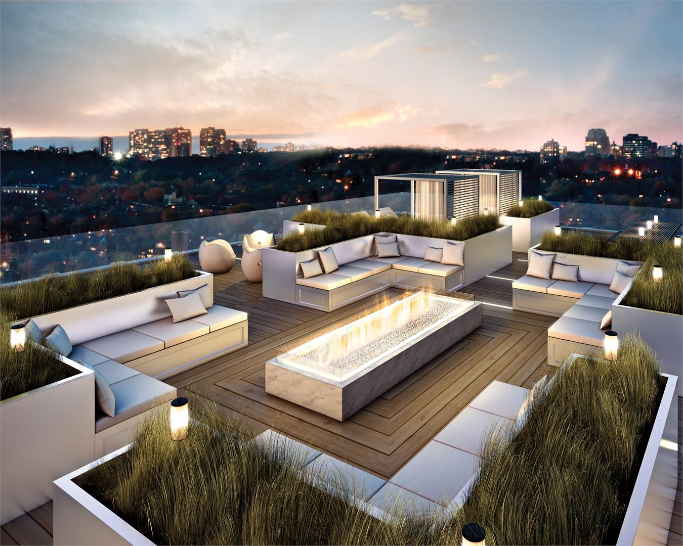 THE YORKVILLE ROOFTOP TERRACE - CONTACT YOSSI KAPLAN