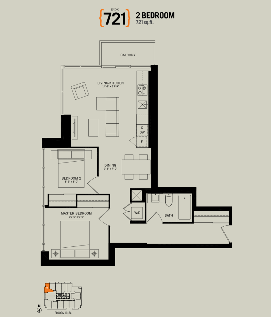 70 Temperance Two Bedroom for Sale - 721 sq ft - Contact Yossi Kaplan