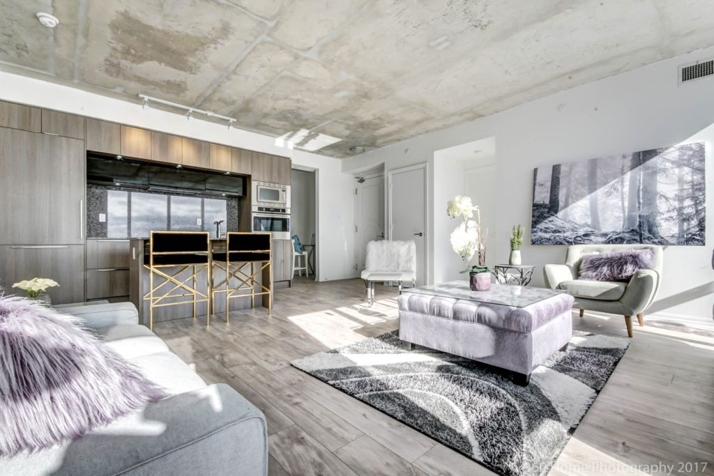 88 Blue Jays Way Condos for Sale - Penthouse Living Room 3 - Contact Yossi Kaplan