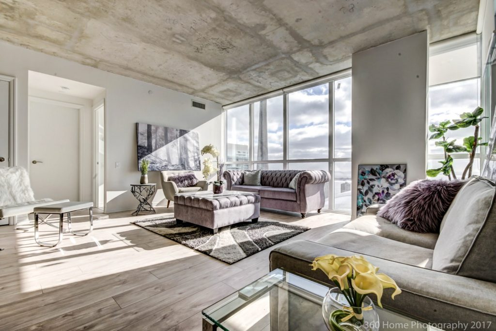 88 Blue Jays Way Condos for Sale - Penthouse Living Room - Contact Yossi Kaplan