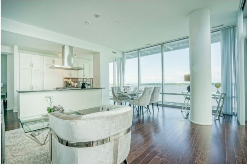 Pier 27 - Two Bedrooms For Sale - Kitchen + Living