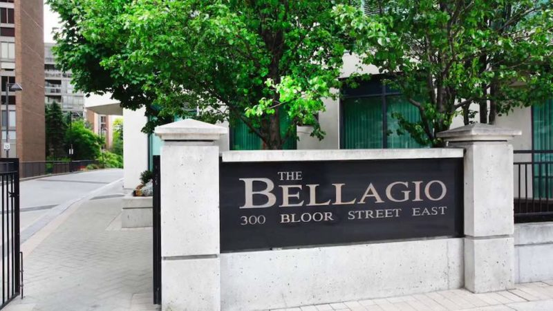 300 Bloor St East - The Bellagio Condos for Sale