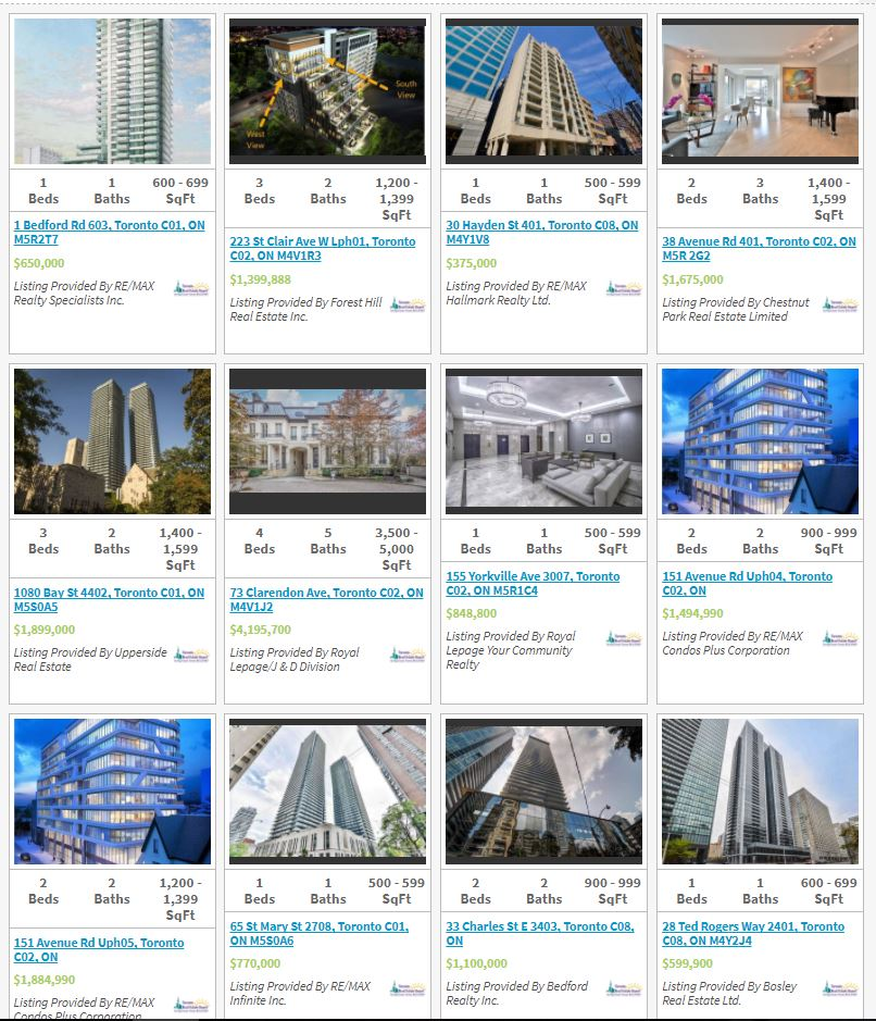 Yorkville Condos for sale - Live Listings updated 24/7. Call Yossi Kaplan