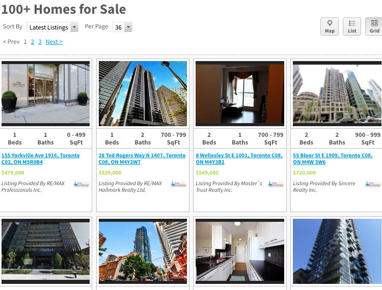 Yorkville Condos for Sale - Live Listings - Call Yossi KAPLAN
